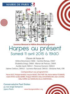 Harpes au présent